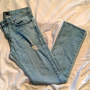 HOLLISTER Slim straight men's jeans